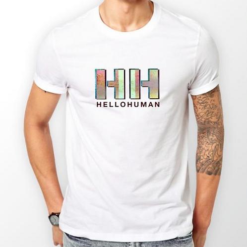 Mens White T-Shirt - HH Logo