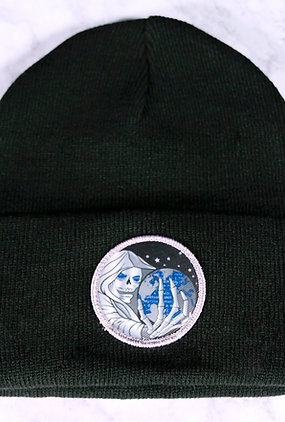 Black Shadow Gate Beanie