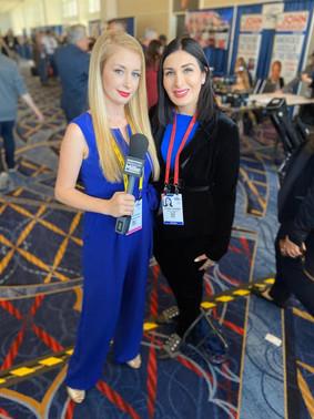 Laura Loomer & Millie CPAC 2020