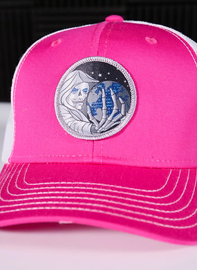 Pink Shadow Gate Hat