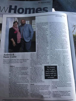 Check us out in the West today. Andrea a
