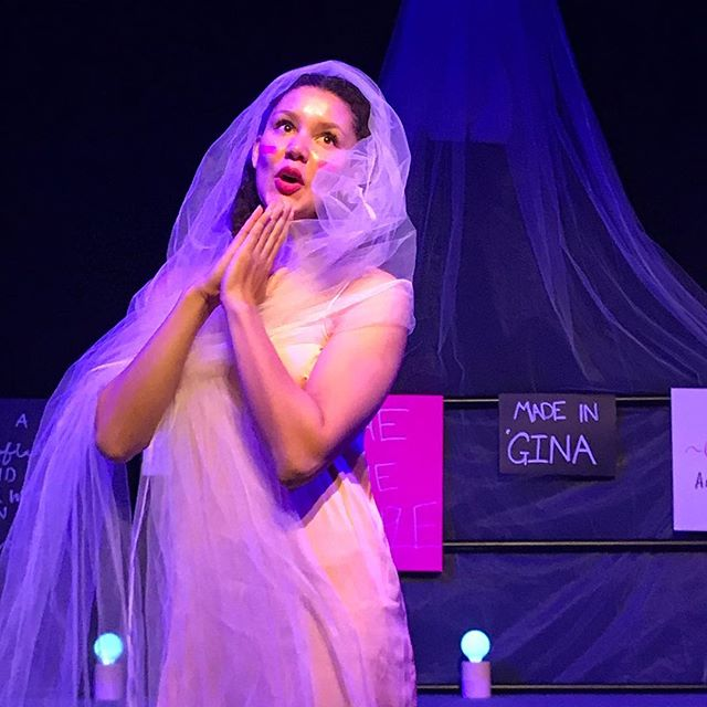 The ever beautiful and talented _immgem as Myrrhine in Lysistrata _subiacoartscentre #pertharts #per