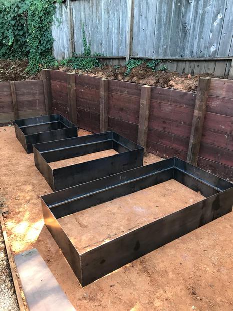 Garden Box Install