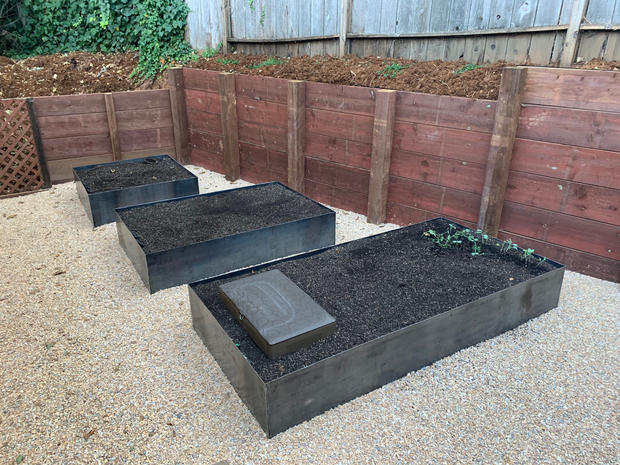 Finished Garden Box Install