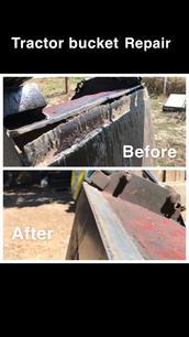 Tractor Bucket Repair