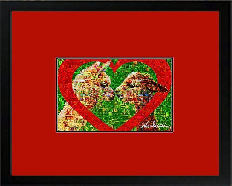 """MOPACA Mosaic Montage"" ----- Signed ""Mini"" Art Print"