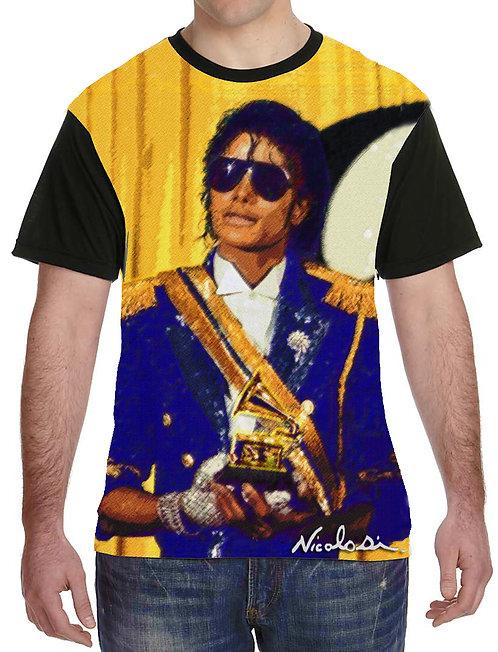 Nicolosi Wearable Art - Michael Jackson-Hall of Fame- Shirt