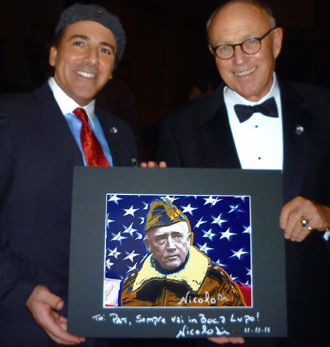 General George S. Patton Signed Limited Edition Artwork by Nicolosi