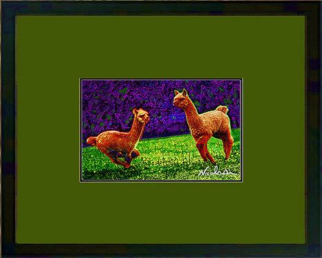 """""""Splendor In The Grass"""" ----- Signed """"Mini"""" Art Print"""