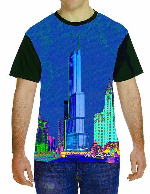 "Nicolosi Wearable Art - ""Sweet Home Chicago""  Trump Tower - Urban ""T"""