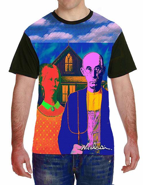 "Nicolosi Wearable Art -  American Gothic Goes ""Pop"" - Urban  ""T"""