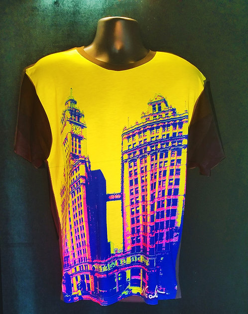 "Nicolosi Wearable Art - ""Sweet Home Chicago""  Wrigley Building- Urban ""T"""