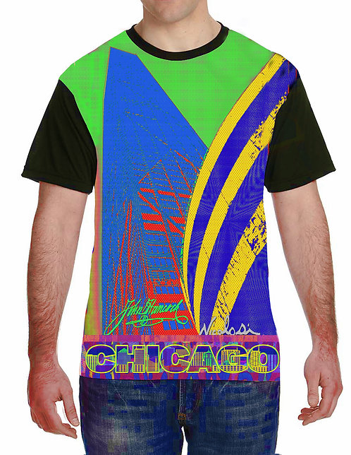 "Nicolosi Wearable Art - ""Sweet Home Chicago""  Hancock Building - Urban  ""T"""