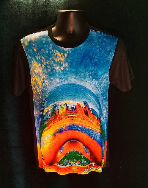 "Nicolosi Wearable Art - ""Sweet Home Chicago""  Wrigley Building- Urban ""T"