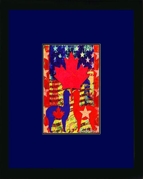 "------ ""Continental Cria"" ------  Signed ""Mini"" Art Print"