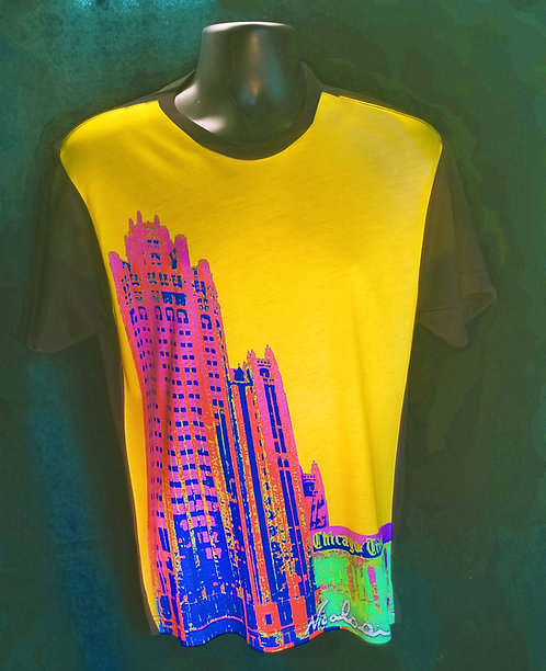"Nicolosi Wearable Art - ""Sweet Home Chicago""  Tribune Tower - Urban ""T"""
