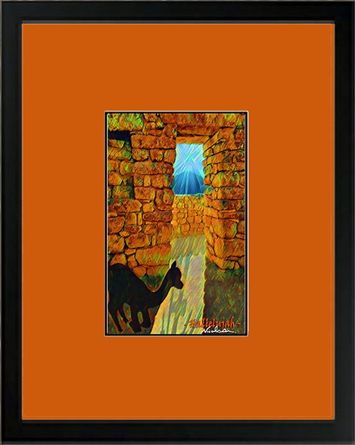 "---""Buona Pasqua Hallelujah""--- Signed ""Mini"" Art Print"
