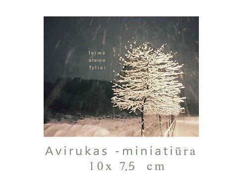 MINI Žiemos  medelis / Winter  tree / 10 x7,5 cm
