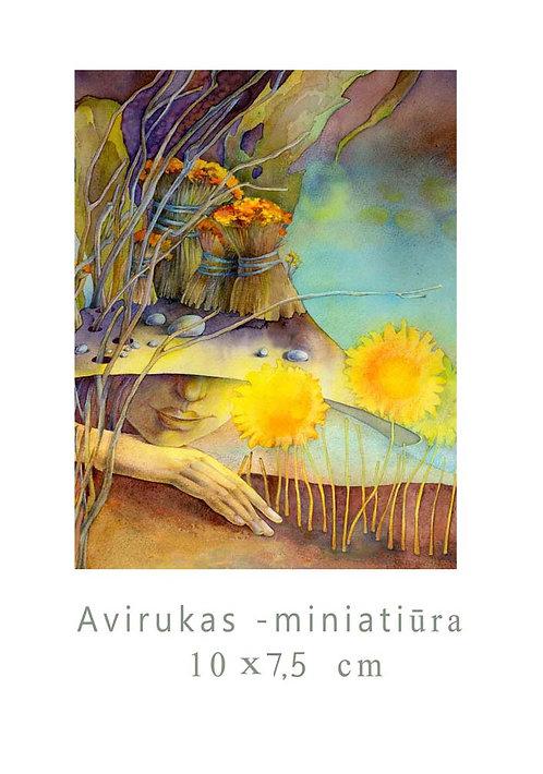 MINI Rytas/  Morning / 10x7,5 cm