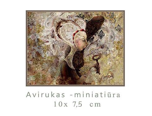 MINI Barbora / 10x7,5 cm