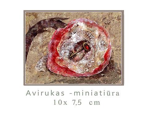 MINI Žiedas / Ring / 10x7,5 cm