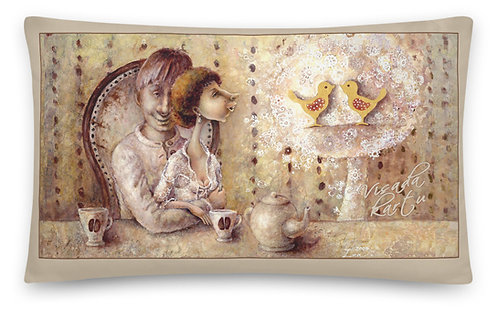 """"""" Coffee  for two  & ANGEL """" 30 x 50cm"""