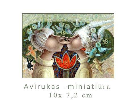 MINI Bučinukas /  KISS /10x7,5 cm