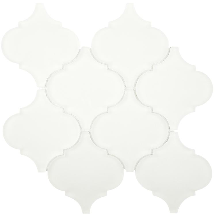 ELYSIUM- Frosted white Arabesque