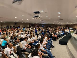 Grupo de música da Escola Eney Santana participa de cerimônia do Governo