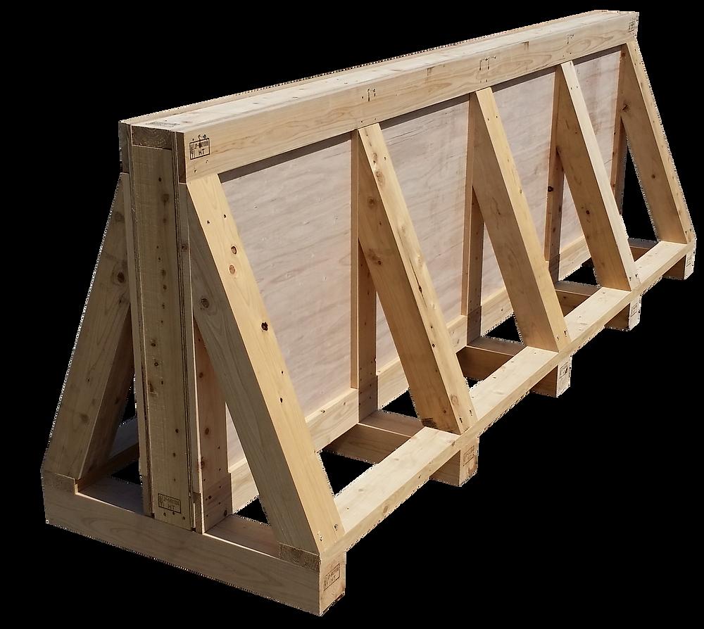輸出用木箱 ガラス 輸出 輸送 熱処理