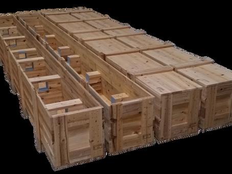 輸出用木箱(軸受け付き)