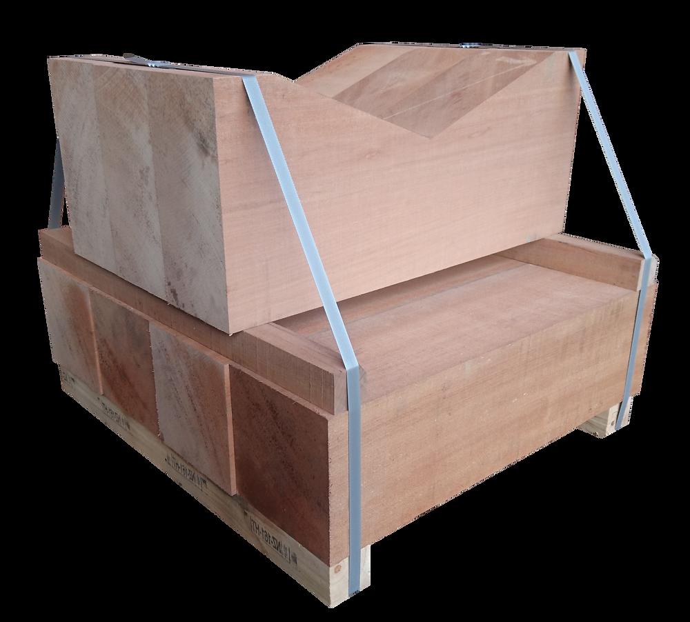 南洋材、堅木、製材、加工、V字、ストッパー