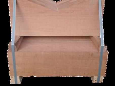 南洋材(堅木)加工品:V字加工
