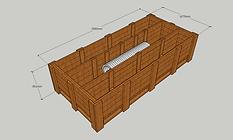 図面 3D パレット 木箱