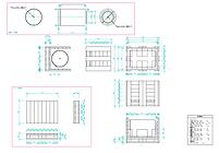 図面 2D パレット 木箱