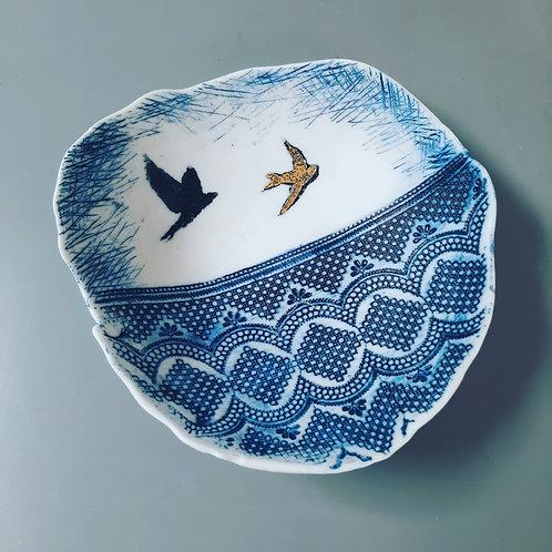 Flying Birds Storage Bowl