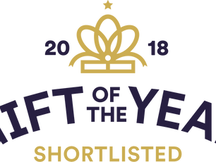 Shortlisted for The Gift Of The Year 2018
