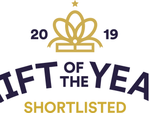 Shortlisted for Gift of the Year 2019