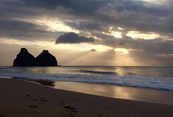 Pôr do Sol na Praia do Bode