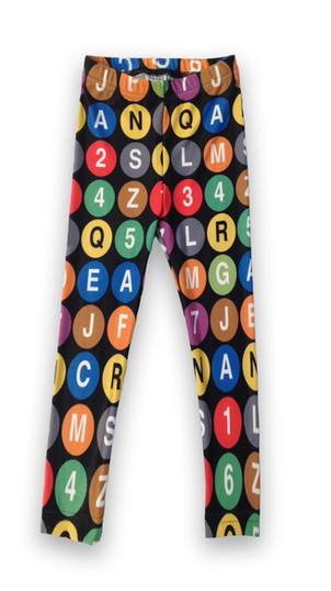 Subway leggings