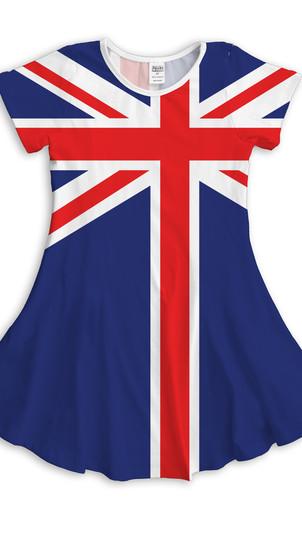 UK Flag Dress