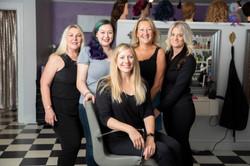 Six Bay Road Salon Team