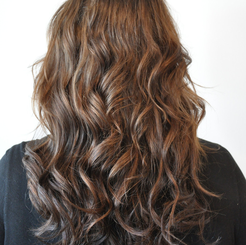 Hair by Tiffany using HairTalk Tape in Hair Extensions