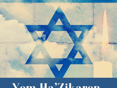 Yom Ha'Shoah, Yom Hazikaron and Yom Ha'atzmaut