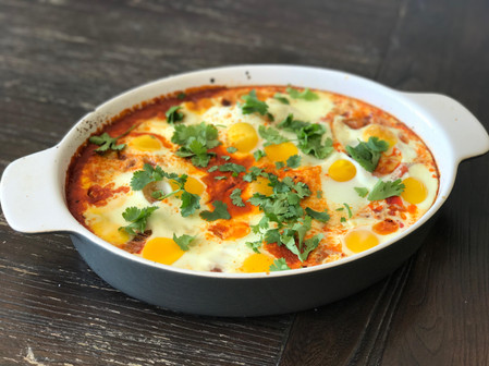 A traditional Shakshuka