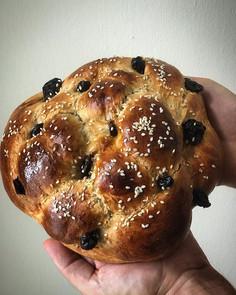 Rosh Hashanah honey round Challah