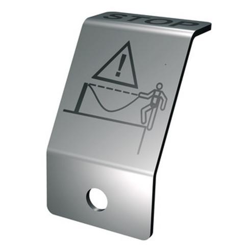Seilsystem Flury Line 8mm: Lock Stoppschild
