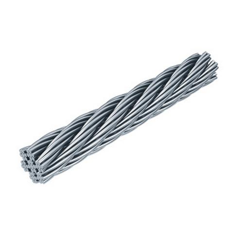 Seilsystem Flury Line 8mm: InoxD8 Inox Seil