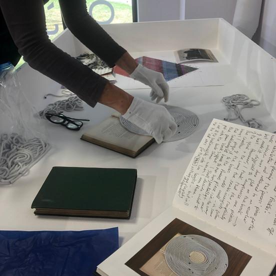 Exhibition install: Hub, Sleaford