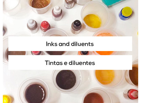 Can I mix inks and diluents from different brands?